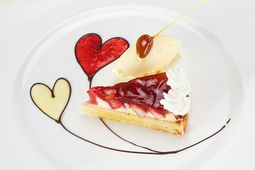 R お誕生日おめでとう♪レストランNico/バースデー苺のタルト♡