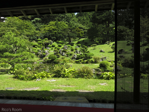 R 国指定名勝庭園『蓬莱園』を楽しみながら、書に親しむひととき♪