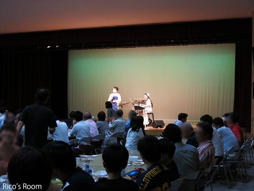 R 酒田ふれあい商工会主催『会員交流ビアパーティ2016』/八幡タウンセンター交流ホール/Y&R出演