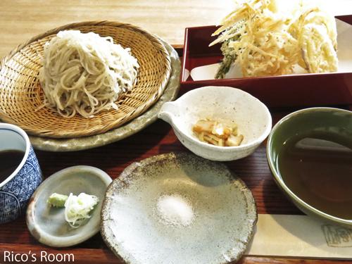 R 鶴岡『蕎麦きり 風土』/粗挽そばきり+天ぷらセット