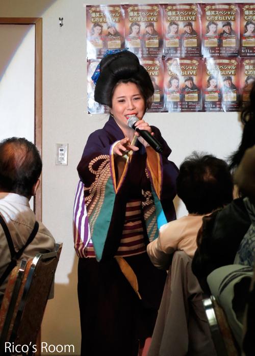 R だるま寿司企画『爆笑!ものまねライブ』で、思いっきり笑ってきました〜♪の巻
