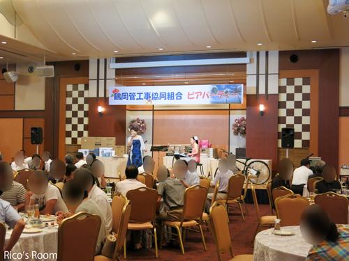 R 『鶴岡管工事協同組合ビアパーティー2016』にYOSHIKO&RICOをお招きいただきました♪