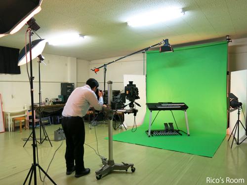 R 『カメラの七桜』フォトスタジオにて、『ルリアール&エレクトーンSTAGEA』撮影の巻♪