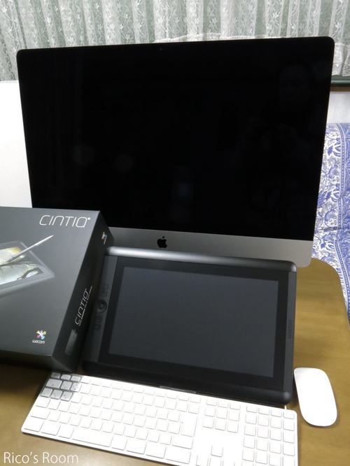 R クリスマスプレゼント?『iMac 5K 27インチ&WACOM CINTIQ 13HD TOUCH』