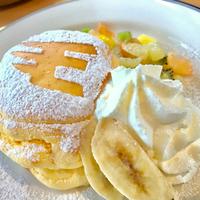 初パンケーキ♡
