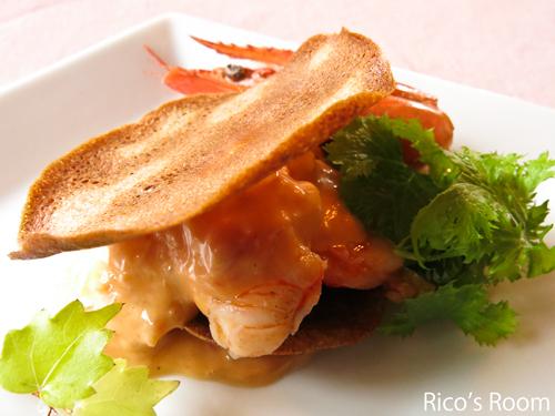 R フレンチ!武野通夫の料理『とらんすぱらん』で両親とランチ