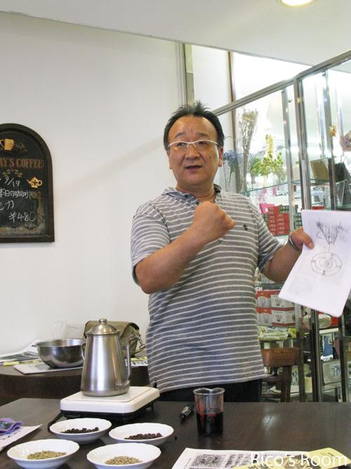 珈琲教室に参加!@コーヒーハウス『ぽえむ酒田中町店』