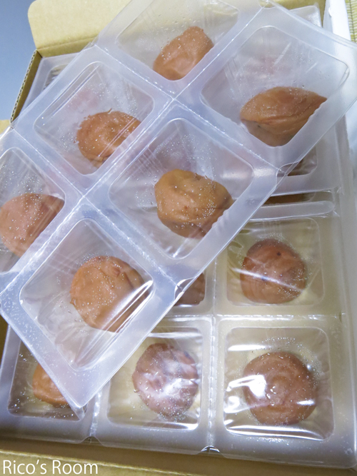 R 猛暑には『アイス梅』♪&アソート紀州南高梅の食べ比べ