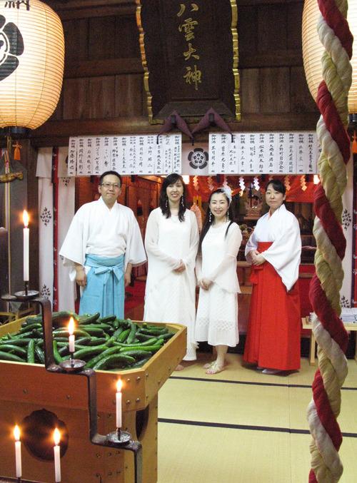 キウリ天王祭/八雲神社例大祭2日目にルリアール出演しました。