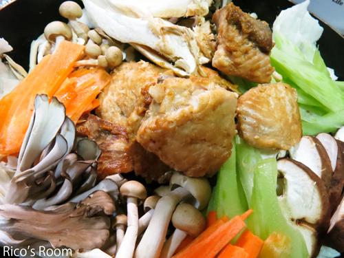 R秋鮭で『チャンチャン焼き』作り!きのこ類オンパレードの巻♪