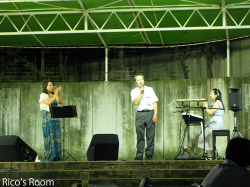 YOSHIKO&RICO/中通り商店街 納涼夕涼み市2011