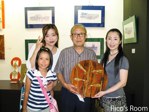 北村尚史先生の第6回『おもしろ木工1000展』&美術部先輩