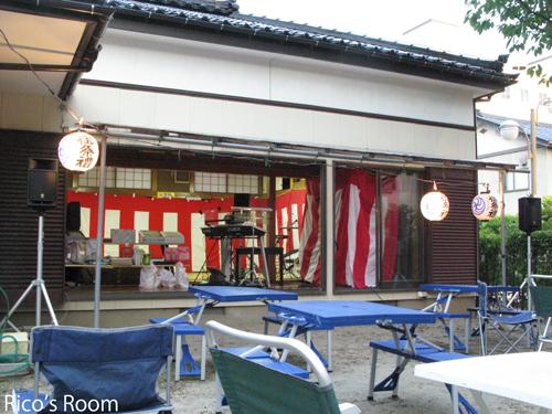 酒田市中町・愛宕神社夏祭り2011『ルリアール』ライブレポ♪