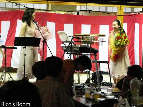 愛宕神社夏祭り2012『ルリアール』出演させていただきました