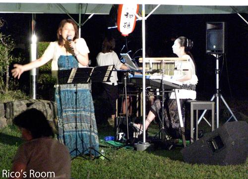 YOSHIKO&RICO/酒田市東大町三丁目夏祭り2011