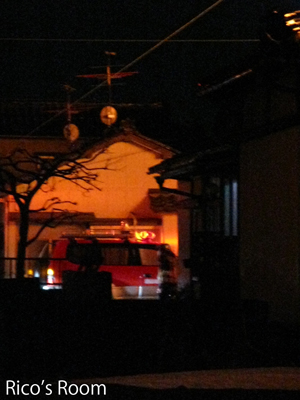 火事にビックリ!酒田市緑町、深夜の大騒動!