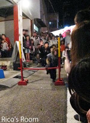 酒田まつり2012宵祭り『太郎次郎一門の生太郎くん』の巻♪