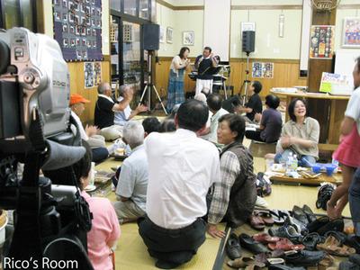 YOSHIKO&RICO『産直あぐり夏祭り2011』ライブ