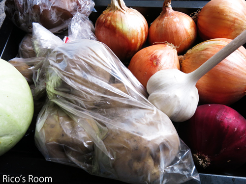 R 宮城県田尻町で生産された無農薬野菜セットを頂戴しました♪