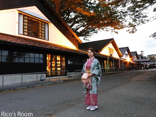 R 着物美人いな子さんと行く『山居倉庫』と生石『大松家』