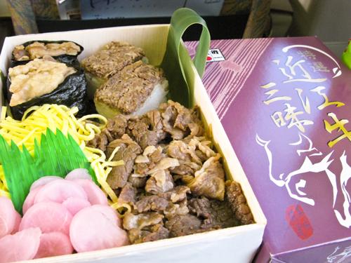 駅弁『近江牛三昧』vs 吉野家『牛焼肉丼』食べ比べの巻♪