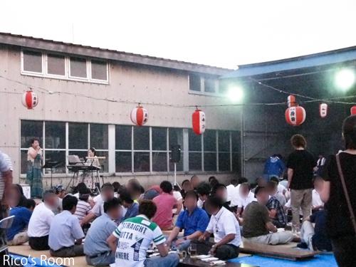 酒田電気工事協同組合青年部ビアパーティー2012にY&R出演