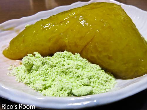 R鶴岡の『黄色い笹巻き』を食べられるようになりました。