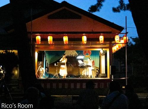 平成24年 福徳稲荷神社例大祭『ルリアール』ライブ無事に終了