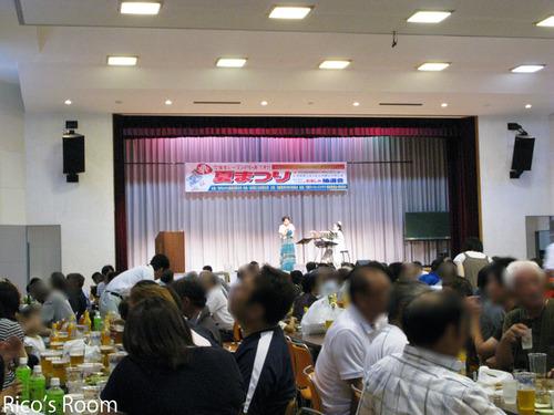『羽黒夏まつり2012』YOSHIKO&RICO出演しました