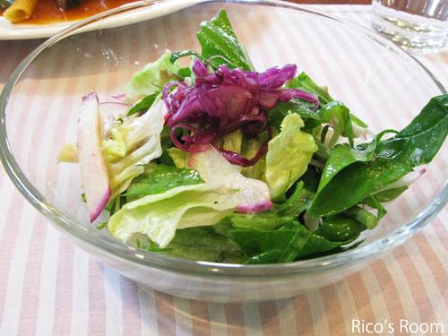 レストラン Nico(酒田)豚ばら肉とペンネのトマト煮ランチ
