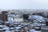 優美♥ 酒田の雪景色