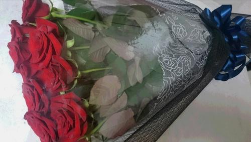 いただいた大切な花束。
