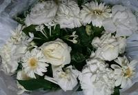 難しい白花プリザ花加工
