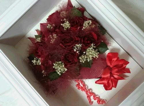 大切なプレゼントのお花