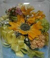 誕生記念に戴いたお花