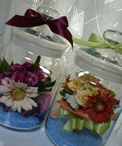 ブーケのお花をほんの少し