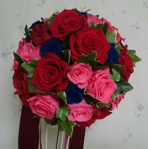 プロポーズのお花をブーケに!