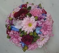 プロポーズのお花をブーケに
