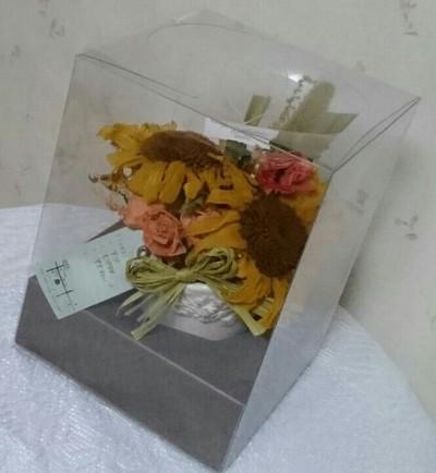 三つ目の花束、生花加工