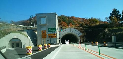 東北中央自動車道米沢から