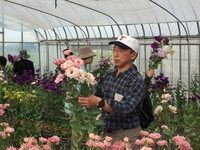 花×メロンの朝採り&農家の朝ごはんツアー