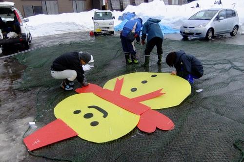 ☃雪だるま☃登場!