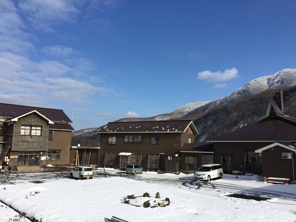 北月山荘 冬が始まるよ~♪