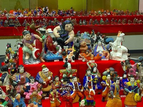 ひな人形展☆亀ノ尾の里資料館