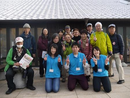 学生による駅からハイキングが開催されました♪