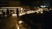 清川雪灯篭まつり