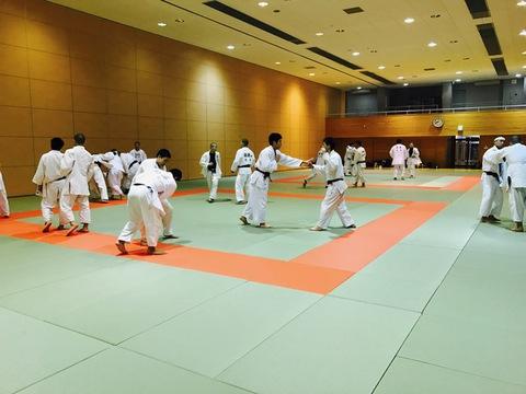 2月1日の稽古と山形県柔道選手権大会