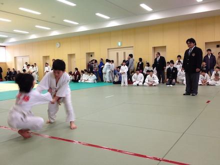 戸沢村スポーツ少年団本部長杯 第一回少年柔道大会