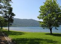 十和田湖畔の印象