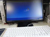 パソコン入れ替え ノートパソコン老眼を掛けないと見えづらく